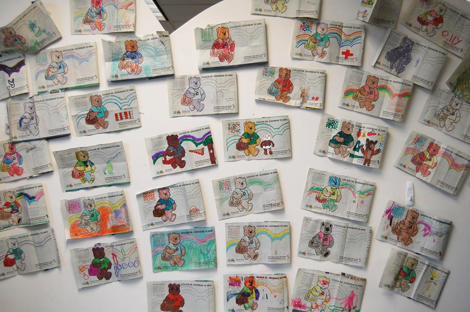 Teddy Bears' Picnic Colouring Contest Entries