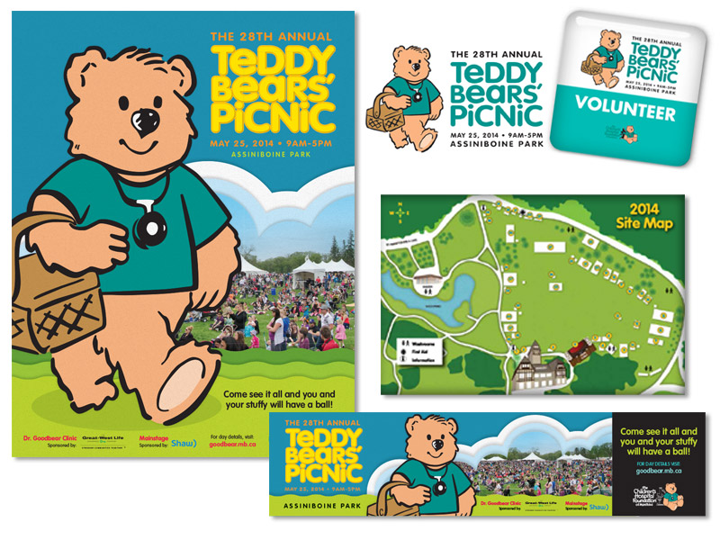 Teddy Bears' Picnic Marketing Materials