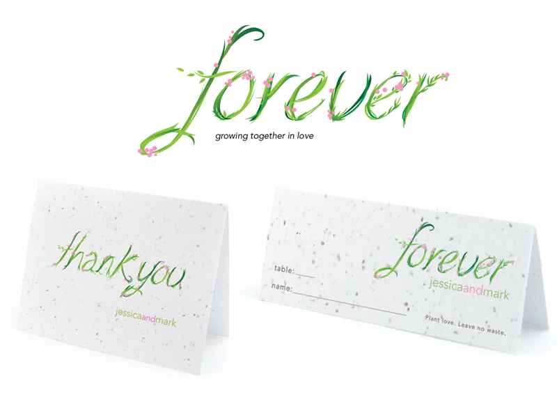 Botanical Paper Works Wedding Stationery