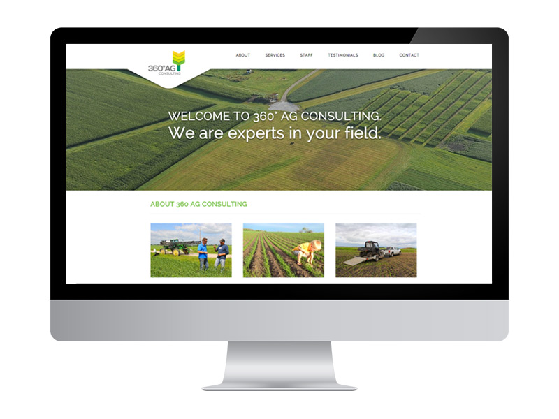 360 AG Consulting Website