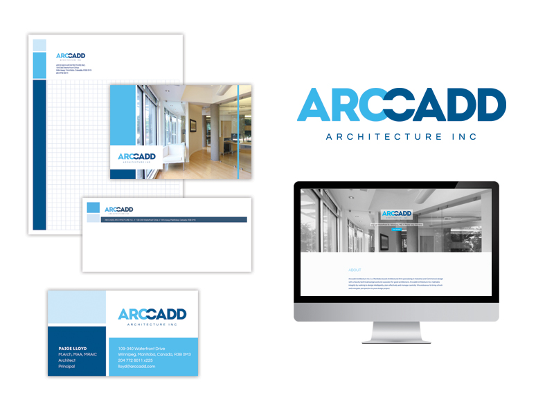 Arccadd Architecture Branding