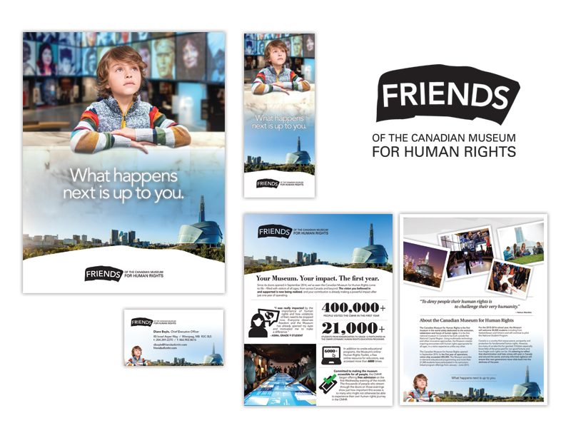 Friends of Canadian Museum for Human Rights Branding